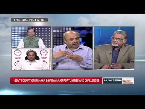 The Big Picture - Govt.formation in Maharashtra and Haryana: opportunities and challenges