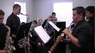 "2013 CP Sax Quartet ""Rialto Ripples by G. Gershwin"" State S&E"