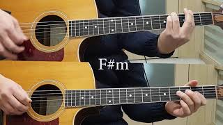 [ABBA] Dancing Queen Acoustic guitar (with Chords)
