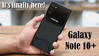 UNBOXING The Samsung Galaxy Note 10 Plus (Pro) Model