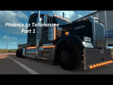American Truck Simulator  - Phoenix to Tallahassee - Part 1