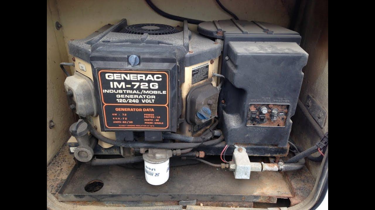 Onan generator Manual 12 5