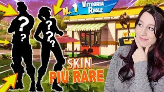 Let's play Fortnite's SKIN MORE RARE! Do you have at least one?