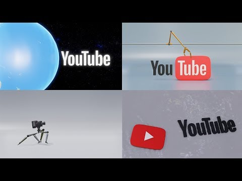 YouTube Logo Intro - Compilation