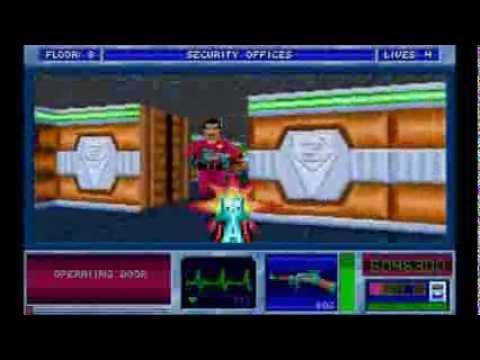 Blake Stone: Aliens of Gold E1M8: Security Offices (100% treasures/secrets/kills)