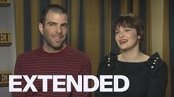 Zachary Quinto, Ashleigh Cummings Talk 'NOS4A2' | EXTENDED