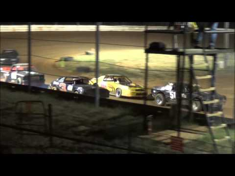 Doe Run Raceway Mini Stock Heat 9-11-15
