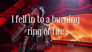 Watch Adam Lambert Ring Of Fire video