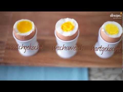 Grundrezepte rezeptissimo part 7 - Eier kochen wachsweich ...