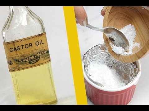 CASTOR OIL AND BAKING SODA CAN TREAT MORE THAN 24 HEALTH PROBLEMS!