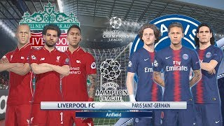 Liverpool FC vs PSG | UEFA Champions League 2018-19 |  [UCL] | PES Gameplay PC