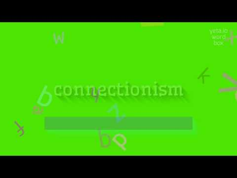 "How to say ""connectionism""! (High Quality Voices)"