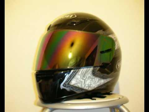 46dd2451 Amazing spectra mirror shield - Visiera spettacolare - YouTube
