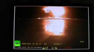 Кадры момента падения Boeing 737 в Казани