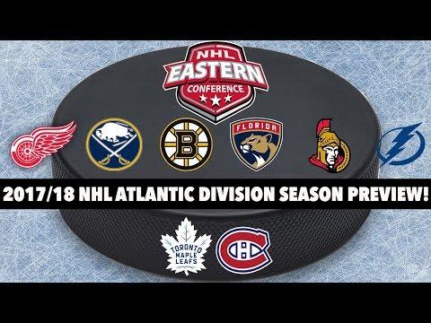 2017/18 NHL Atlantic Division Season Preview!