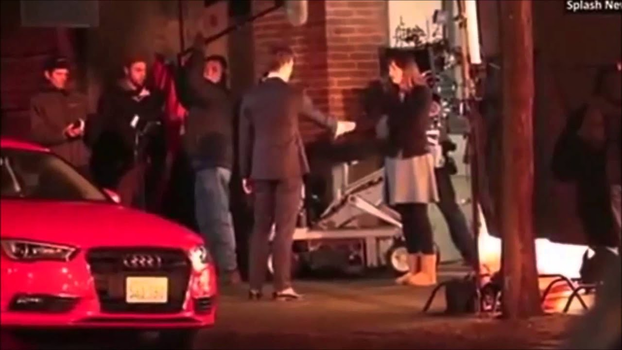 Fifty Shades Of Grey Filming The Graduation Gift YouTube - Audi car in 50 shades of grey