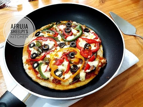 how to make pizza without microwave oven