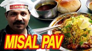 How To Make Misal Pav | Misal Pav Recipe | Mumbai Misal Pav Recipe | Road Side Chef