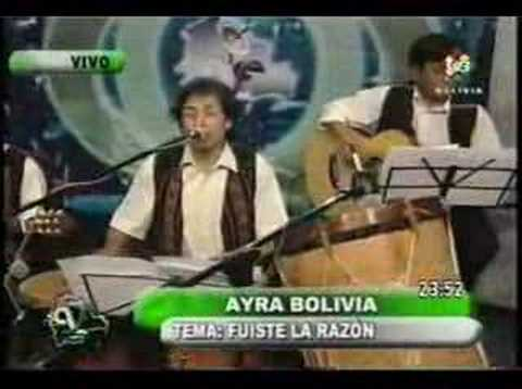 Para darte amor, Fuiste la Razon - Ayra Bolivia