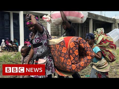 Thousands flee after
