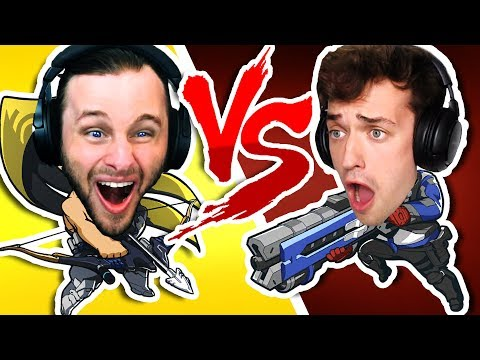 WHO IS THE BEST PEW PEWER | OVERWATCH One vs One thumbnail