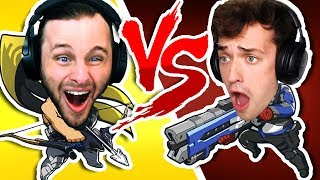 Download WHO IS THE BEST PEW PEWER   OVERWATCH One vs One Mp3 and Videos