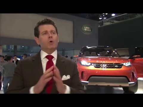 Gerry McGovern, Design Director and Chief Creative Officer Land Rover - Beijing 2014 | AutoMotoTV