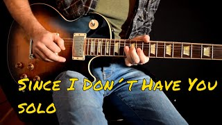 Guns n Roses - Since I Don't Have You solo cover mp3