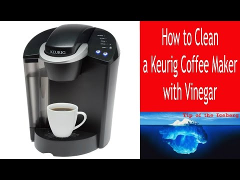 clean keurig machine with vinegar