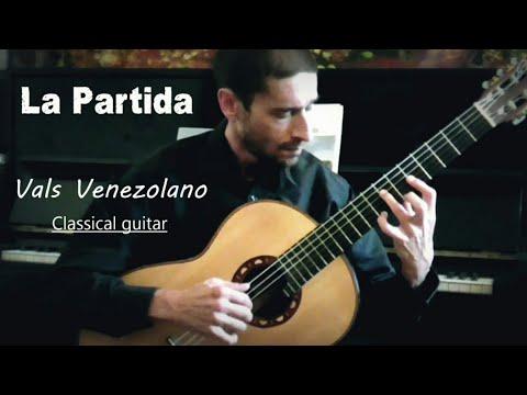 La Partida - Carlos Bonnet (Classical Guitar) arr. César Silva