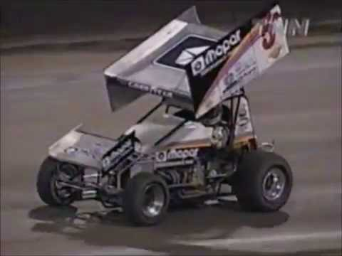 Jeff Shepard Sprint Car Crash