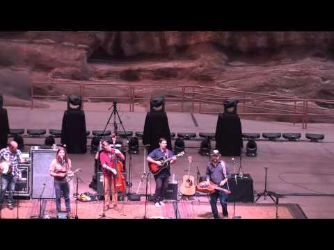 Greensky Bluegrass - full set - Red Rocks Amphi. 8-21-15 Morrison, CO HD tripod