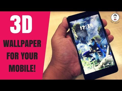 Stunning 3D Holographic Wallpaper for Android 2017  Insane free 3D wallpaper  3D Parallax