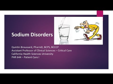 Sodium Disorders Readiness Lecture 11-02-17