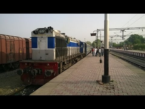 Full Journey From Sultanpur Jn to Jaunpur City on LKO WDM 3D 11231 diesel action