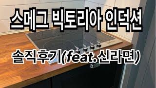 스메그(SMEG)인덕션 사용후기,소음 feat:신라면,…