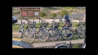 Servei de lloguer de bicicletes a la Via Verda de la Terra Alta, Bot, Tarragona.