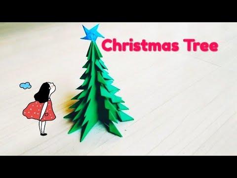 3D Paper Christmas Tree | DIY Christmas Tree🌲| DIY Paper Crafts