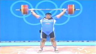 2004 OLYMPIC GAMES HOSSEIN REZAZADEH THE STRONGEST MAN IN THE WORLD (OLYMPIC SNATCH)
