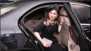 Ca sĩ Hà Phương đeo trang sức 1,2 tỷ đồng lên thảm đỏ(Tin tức Sao Việt)
