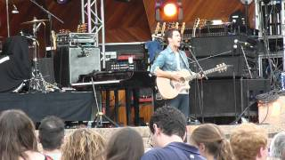 Andy Grammer - Boston, 9/1/12 - Love Love Love (Let You Go) - performed at Mixfest