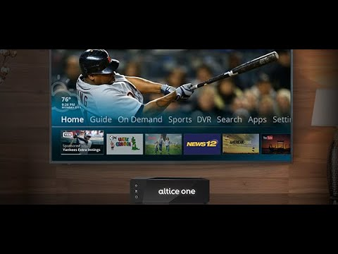 Altice Usa Launches Altice One 3 0 Multichannel News