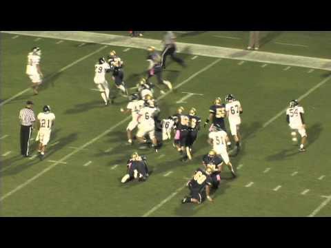 Clover vs. Spartanburg High School Football Highlights 2011