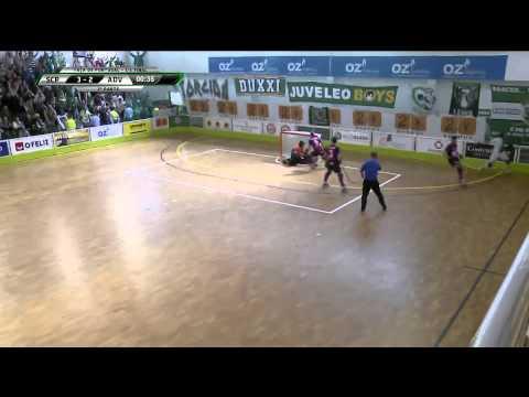 Hoquei Patins :: Sporting - 4 x Valongo - 2 de 2014/2015 - 1/4 Final Taça de Portugal