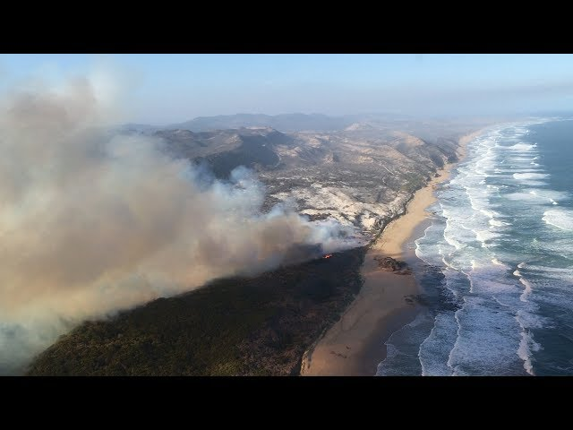 Knysna Fire Map.Watch Full Picture Of Wildfire Damage Along Garden Route