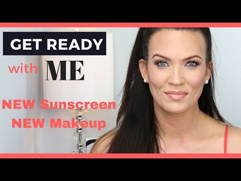 GRWM w/ NEW SUNSCREEN & NEW MAKEUP - Make P:rem - Laura Mercier - Too Faced Concealer - Face Atelier thumbnail