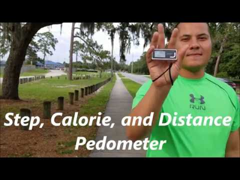 3D Sensor Pedometer Review Step, Calorie, and Distance Counter