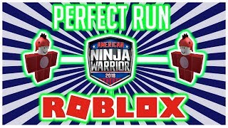 BowserSpice's PERFECT RUN! - American Ninja Warrior in Roblox