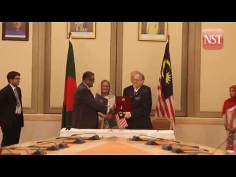 Malaysia and Bangladesh to strengthen bilateral ties
