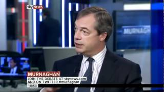 Nigel Farage on the rise of UKIP - Sky News (22Apr 2012)